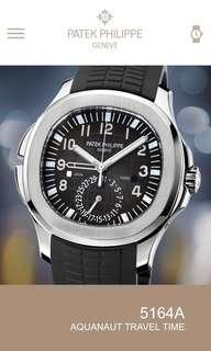 Patek Philippe Aquanuat Travel Time 5164A