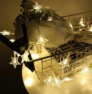 🚚 5meter 50led Star String Fairy Lights Battery Operated