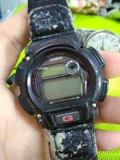 Vintage Casio DW8800 G shock codename watch