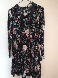 BNWOT floral dress