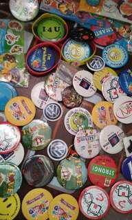 Memorable Pin Badges