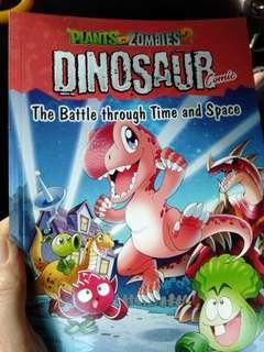 Plants vs zombie 2 dinosaur comic