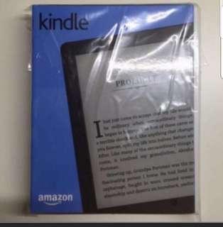 (Free Cover+eBooks) New Sealed Kindle 8 Black Colour