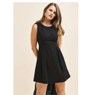 Dynamite Fit and Flare Black Dress