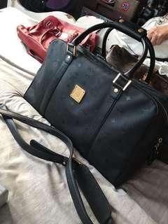 MCM Luggage Weekender Travel Bag not lv prada gucci