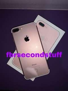 iphone 7 plus 128gb rose gold (baca deskripsi)