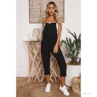 DOLLY GIRL FASHION Jumpsuit (Black)