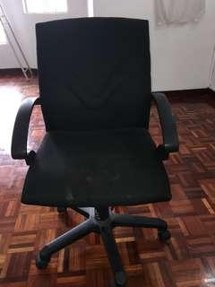 Office swivel Chair adjustable medium High back