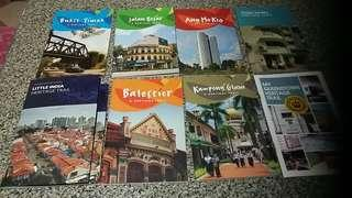 Heritage trail booklets with maps