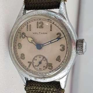 🚚 Vintage Timepiece, Rare Waltham issued manual winding wrist watch, USA Made, 1950's, 1960's Military Model, Military markings, Military Issued for Korean War, Vietnam War, ORD Dept, USA, OF-178972, Limited Edition