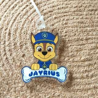 Custom Personalised Bag Tag - Paw Patrol