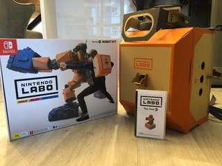 Nintendo LABO 02 Robot Kit