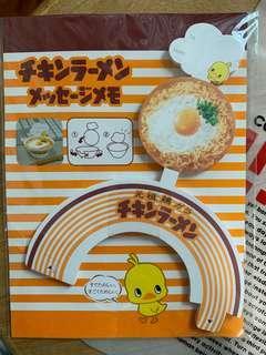 Cup noodles Museum 日本限定 Memo