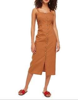 Topshop Linen Dress