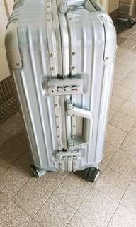20in Aluminium frame polycarbonate wheeler FREE 1 20in cabin luggage on wheels