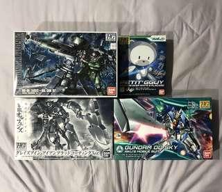 Gundam HG Model Sets