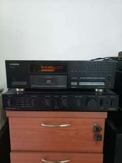 Vintage Pioneer CD player PD S701 Japan