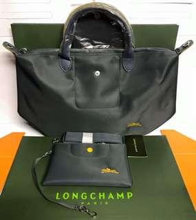 Longchamp neo club with pouch