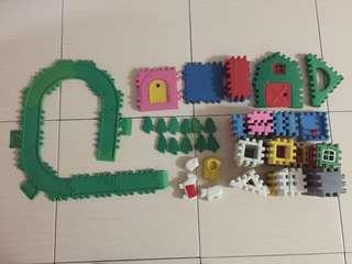 Puzzle block more than 100pcs