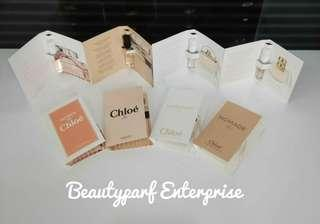 Chloe Perfume 1.2ml Vial Collection X 4pcs - For Women