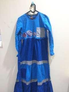 Baju Muslimah Panjang Dannis