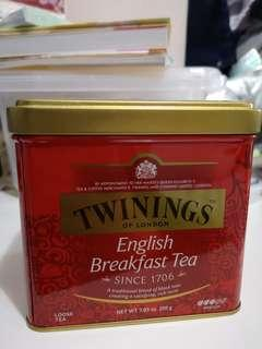 Twining s English breakfast tea