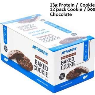 Baked Cookie protein Myprotein