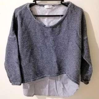 Knitted Korean Top