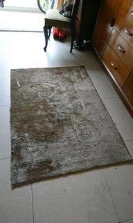 Purposely marked old carpet #3