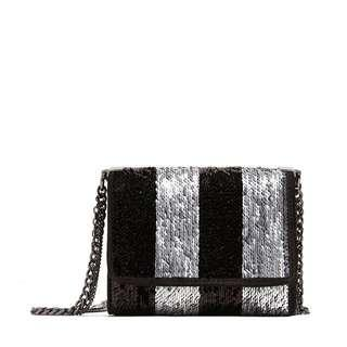 Zara sequin cross body sling mini crossbody bag two tone ways