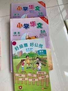Primary 5 Chinese textbook