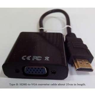 BrandNew HDMI to VGA adapter HDMI converter cable for computer
