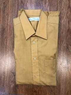 Marks & Spencer Long Yellow Mustard Sleeve Polo