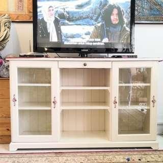 IKEA cabinet with glass door