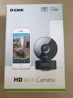 D-Link DCS-936L Wireless HD 720P Day/Night Wi-Fi Security Camera