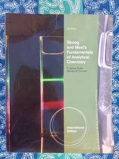 Skoog and West's Fundamentals of Analytical Chemistry-Holler & Crouch-9th Ed