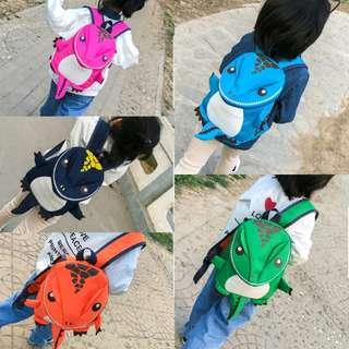 Backpack school bag dinosaur cute for 2 to 5 yrs old
