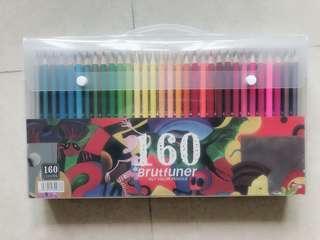 🚚 160 colors oily color pencils