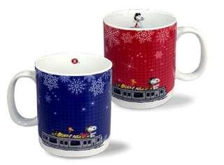 限量絕版:MTR Snoopy 瓷器水杯,$100/2,尺寸請看圖