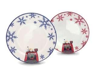 限量絕版:MTR Snoopy 瓷器碟,$100/2,尺寸請看圖