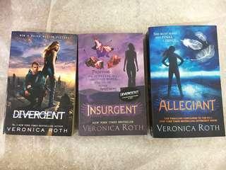 Divergent Series Novels