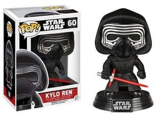 🚚 Star Wars funko pop! Kylo Ren no 60
