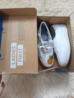 Authentic Keds Triple White Ortholite
