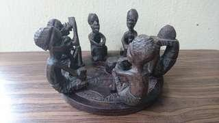 Wooden African Carving 6 different figurines.