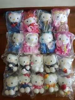 🚚 Hello Kitty McDonald's Plushy Toys 1999-2001