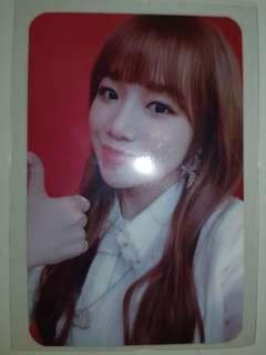 [RARE INSTOCK] IZ*ONE - Jo Yuri color*iz fansign card