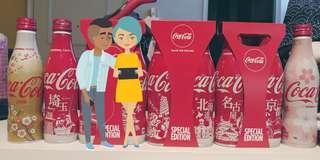 日本地方限定期間限定可口可樂共六支