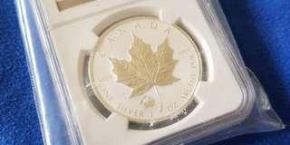 2012 Canada Maple Titanic SP69 Silver Coin