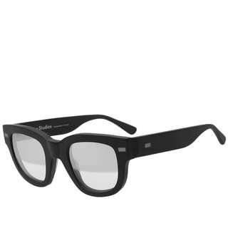 🚚 Acne Studios D-Frame Acetate Mirrored Sunglasses