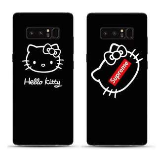 PREORDER - HK Supreme Black Kitty Samsung Soft Case #7